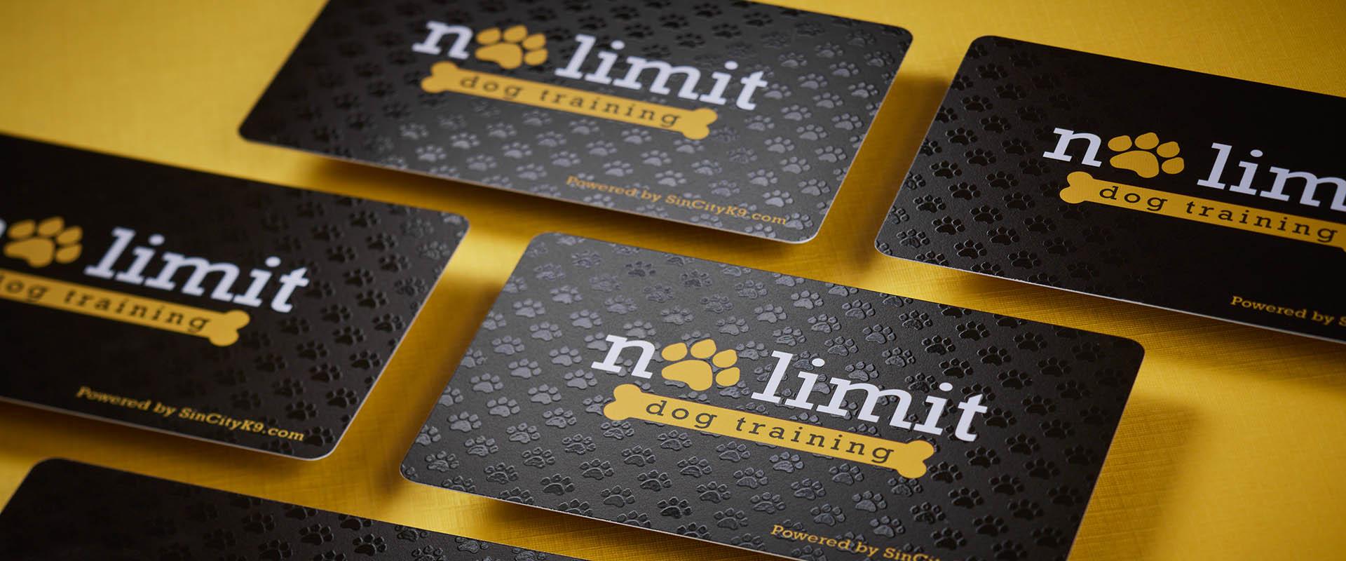 dog training card